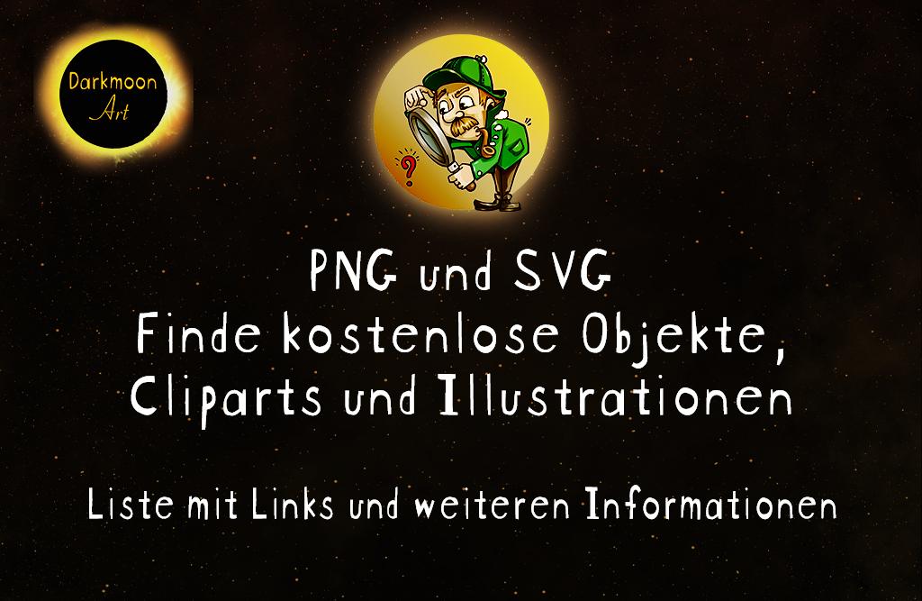 PNG und SVG - Freigestellte Objekte finden